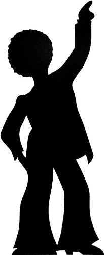 Disco Dancer - Silhouette Lifesize Cardboard Cutout / Standee / Standup Starstills UK - Party Cardboard Cutouts,http://www.amazon.com/dp/B004RZPDI8/ref=cm_sw_r_pi_dp_dFAotb0XQA2B6BJD