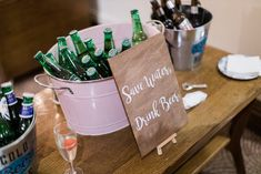 Save Water, Paper Shopping Bag, Barware, Reception, Beer, Drinks, Root Beer, Drinking, Ale