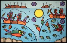 NORVAL MORRISSEAU BLOG: July 2008 Woodlands School, The Grandmaster, First Nations, Storyboard, Folklore, Art School, Bowser, Artist, Blog
