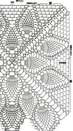 143 free diagrams for crochet pineapple stitches Crochet Doily Diagram, Crochet Doily Patterns, Crochet Art, Crochet Squares, Thread Crochet, Vintage Crochet, Crochet Doilies, Crochet Stitches, Free Crochet
