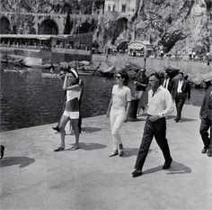 Giovanni Agnelli. Amalfi, 1962