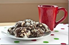 gluten-free candy cane crinkle cookies