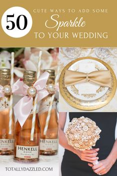 50 Ways to Bling Out Your Wedding Wedding Venue Inspiration, Wedding Themes, Wedding Colors, Wedding Venues, Wedding Decorations, Wedding Ideas, Diy Wedding, Bling Wedding, Copper Wedding