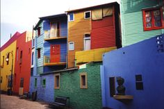 La Boca, Buenos Aires, Argentina – La Boca is a neighborhood in Buenos Aires, the home of world famous football club Boca Juniors. It is a popular destination for tourists visiting Argentina with its colorful houses and pedestrian streets, the Caminitos. Argentine Buenos Aires, Resorts, Wow Travel, Southern Cone, Argentina South America, Iguazu Falls, Cinque Terre, Newfoundland, Oh The Places You'll Go