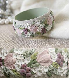 """Handmade bracelets. Fair Masters - handmade bracelet """"Morning hydrangea."""" Handmade."""