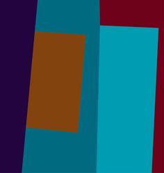 Burghard Müller-Dannhausen Geometrische Malerei,  geometric painting, geometric art, geometric abstraction: 1993-10-2
