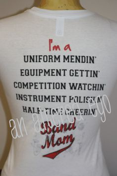 Band Mom Does 2 out 5 count!lol