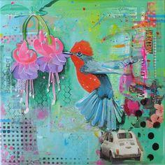 Nu Zomeractie! 25% korting op de alle schilderijen in de shop van Janet Edens. Gebruik de code : NATTE ZOMER