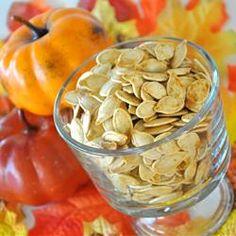 Toasted Pumpkin Seeds - Allrecipes.com