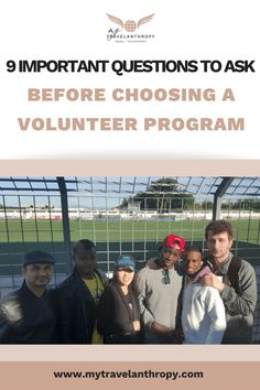 9 Important Questions to Ask Before Choosing a Volunteer Program. Volunteering and and working abroad and add so much more meaning to you life. These travel tips will make choosing where to volunteer so much simpler! Ways To Travel, Work Travel, Travel Tips, Travel Stuff, Volunteer Programs, Volunteer Abroad, Volunteer Trips, Volunteer Ideas, Questions To Ask