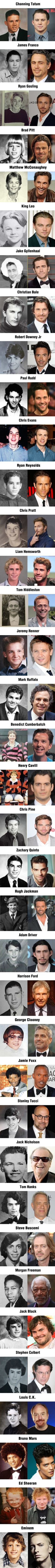 37 Male Celebrities And Their Oddly Cute Yearbook Photos