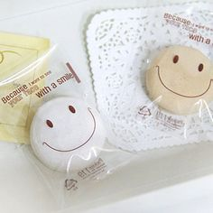 40 With a Smile Cookie Cellophane Bags - Mini size (2.4 x 3.5in)