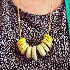 DIY Banana Chips Necklace