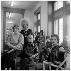 Andy Warhol and members of the Factory, New York City, 1969 Photo Cecil Beaton