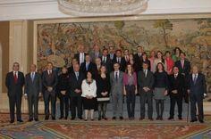 Audiencia con la Princesa de Asturias.