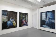 """Olivier Masmonteil, Solo show """"La mémoire du passé"""", Galerie Dukan (Paris, France), Installation View, 2014"""