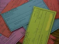 Classroom checks...Thinking about using it at home also to teach my kiddos money management.