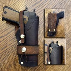 Select Old Gringo Holsters 1911 Holster, Gun Holster, Leather Holster, Leather Tooling, Hunting Rifles, Hunting Gear, Black Powder Guns, Concept Weapons, Knife Sheath