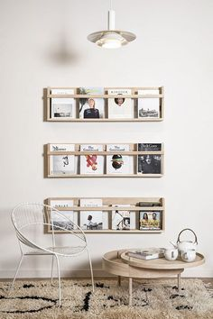 HOW TO ORGANIZE YOUR MAGAZINES IN A STYLISH WAY | ilaria fatone ⎟ stylisme d'intérieur aix-en-provence