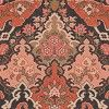 Inspired by the opulence of Persian carpets, this elegant wallpaper design has been named after the Russian playwright and poet Alexander Pushkin. The wallpaper features classic oriental motifs, creating a bold and bohemian look in your home. Shown here in the coral colourway. Other colourways are available. Please request a sample for a true colour match. Wide width product. Pattern repeat is 38cm, not as stated below.
