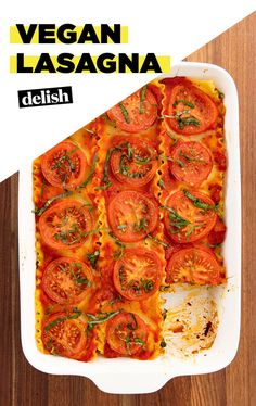 Vegan LasagnaDelish