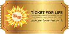 Win a A TICKET FOR LIFE for Sunflowerfest ! Head over to their facebook page at  to enter.