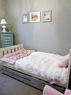 Under bed storage from pallets