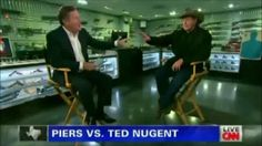 Ted Nugent to Piers Morgan: 'You're the Perfect Poster Boy to Stand Up for Things That Make No Sense'  (give 'em hell Ted !!!)