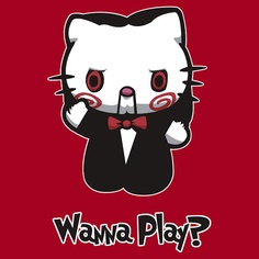 Saw / Hello Kitty    jigsaw kitty by yayzus