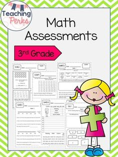 Assessments and tracking sheets for every math standard