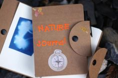 Summer Nature Journal Craft for Kids