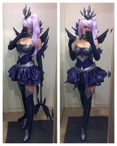 Dark Elementalist Lux from League of Legends cosplay by Kinpatsu cosplay #darkelementalist #leagueolegends #cosplayclass #cosplay