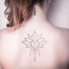 Ornamental back piece by Melina Wendlandt
