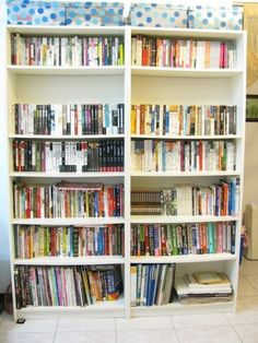 Blog post about problems with shelves. Chinese