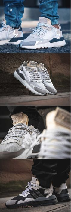 f24d9cfe9e247 The Adidas Nite Jogger Core Boost Black   Carbon and FTWR Crystal White are  part of