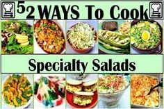 Inspired By eRecipeCards: 52 Specialty Salads Recipes