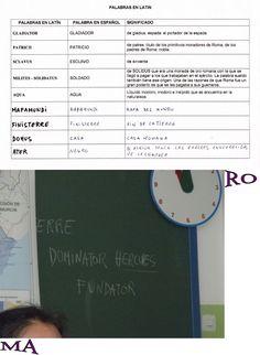 Proyecto ROMA para niños