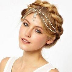 The Callie Bohemian Bridal Headpiece Hair Jewelry