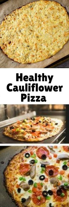 CAULIFLOWER PIZZA RE