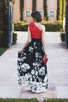 Vestido largo falda larga invitada boda noche Chic Dress, Dress Skirt, Dress Outfits, Fashion Dresses, Summer Wedding Outfits, Indian Designer Outfits, Outfit Designer, Party Frocks, Wedding Dress Patterns