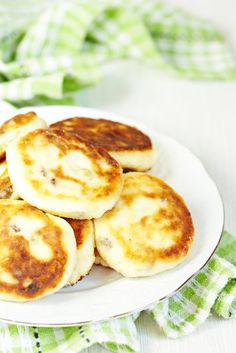 Cottage Cheese and Sultana Pikelets
