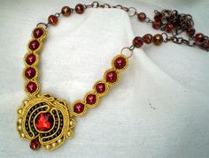 soutache post with link