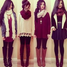 1, 2, 3 OR 4!?  #Style Tag Your Friends!  #Lookbook #Fashion