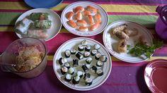 Rouleaux de printemps et nems - #CataCookingChallenge01 Cata, Kitchens, Chinese New Year, Wraps, Spring