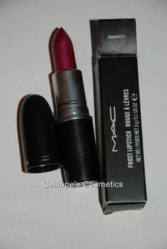 Mac Cosmetics BNIB Pomposity Frost Lipstick RARE   eBay