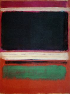 Mark Rothko, Magenta, Black, Green on Orange, 1949