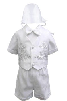 6pc Boy Baby Kid Teen Dark Grey Suit Set Satin Leopard Necktie Outfits All Size 18-24 months Extra Large: