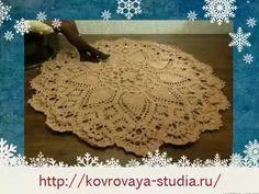 Вязание ковров крючком мастер класс