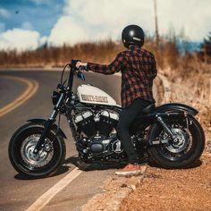 Harley Davidson News – Harley Davidson Bike Pics Harley Davidson Chopper, Harley Davidson Sportster, Hd Sportster, Custom Sportster, Custom Harleys, Custom Motorcycles, Harley 48, Harley Bobber, Harley Bikes