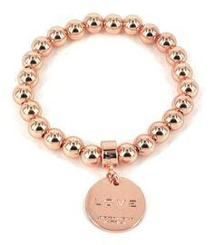 Love From Venus Rose Gold Love Bracelet on www.lilyandmitchell.com.au